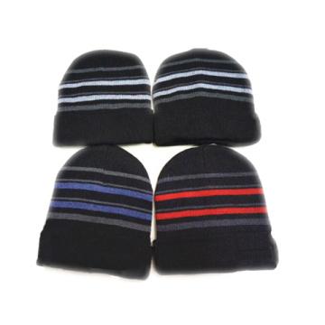 Benutzerdefinierte gestrickte bedruckte Beanie Caps