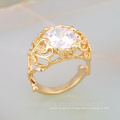 Fashion Design Gold Plated Country Style Zinc Alloy Fashion Ring JWZ0028