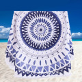 GYM Holiday Travel Camping Round Seaside Beach Towel