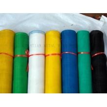Pantalla de mosquito de plástico de 16mesh a 24mesh