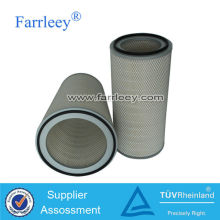 Gas turbine pleated filter,flame retardent filter cartridge