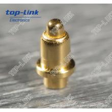 Pin de Pogo de cobre amarillo con muelle para DIP