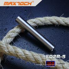 Maxtoch ED2R-5 en acier inoxydable taille mini portable torche par 3 * aaa