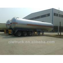 Hot sale 58.8M3 tri axle trailer sale in Peru,3 axles lpg gas trailer