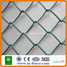 Cerca de elo da cadeia galvanizado e PVC revestido de ISO9001