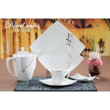 Vaisselle coréenne en porcelaine blanche ou décorative à bas prix