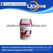Lixo de brinquedo moldes e 2013 plástico lixo bin mole em taizhou, zhejiang