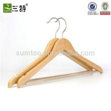 Cintre en bois fait sur commande en gros pour des vêtements