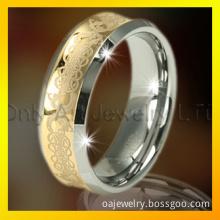Laser Engraving Tungsten Ring/Tungsten Ring