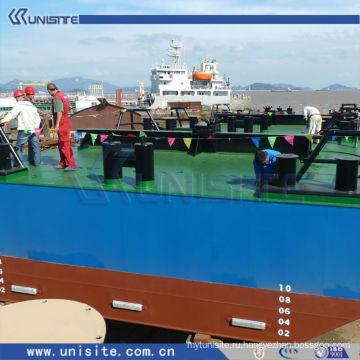 Водная плавучая платформа для морского строительства и дноуглубительных работ (США-2-007)