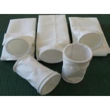 La meilleure résistance de vente, sac filtrant de poussière de l'acide et d'alcali / sac de filtre à air de polyester