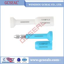 ISO17712 zertifiziert GC-B001 Schraube Dichtung