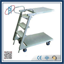 Steel Movable Ladder For Racks