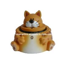 Temporizador de cozinha de gato bonito, temporizador digital de contagem regressiva de animais