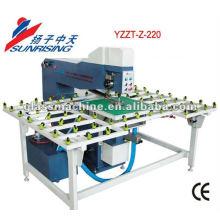 Verre de Full-automatique option de laser YZZT-Z-220 la machine de forage