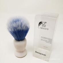 PP Handle shaving brush Nylon filaments beard brush man facial brush
