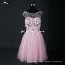 RSE664 Pink Bling Bling Cocktail Party Dress