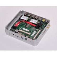 Eglobal Mini-Itx Micro PC Intel Core I5 5200u 2nics 2HDMI Industrial Fanless Mini PC Windows10 Frame
