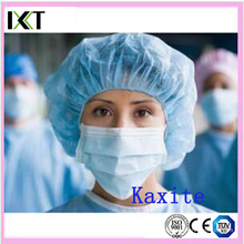 Disposable Bouffant Cap Manufacturer Stock Doctor Nurse Cap Kxt-Bc17