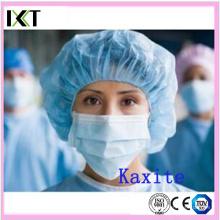 Fabricante descartável do estoque do tampão de Bouffant para o hospital ou a indústria Kxt-Bc10
