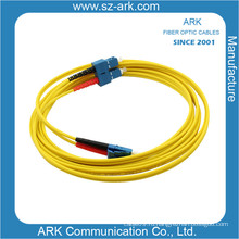 SC / PC-LC / PC одномодовый симплексный волоконно-оптический кабель