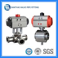Sanitary Electrical Ball Valve Manufacturer