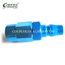 Asia Market Blue good seal propery female Alumimnm Japan connector