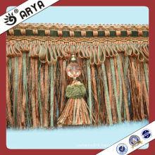 Fashion Curtain Tassel Fringe with Beads