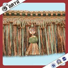 Fralda de borracha de cortina de moda com grânulos