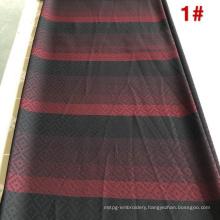 Warmly Polyester Rayon Nida Dubai Striped Knitted Fabrics