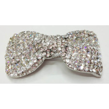 Bow Shapes Clips décoratifs en strass