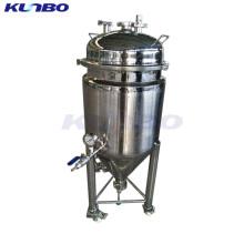 KUNBO Доморощенного охлаждать jacketed пиво коническая Ферментер 50л