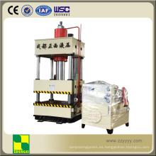 Máquina de la prensa de la forja del metal de cuatro columnas