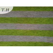 2016 Синели полосы Жаккард диван ткани 330GSM
