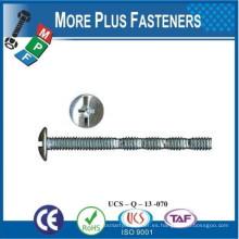 Hecho en Taiwán Tornillo de la máquina Metric Ruptura Snap Off Tornillo Acero al carbono Zinc plateado
