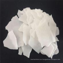Fuente del fabricante de la fábrica de escamas de soda cáustica perlas hidróxido de sodio