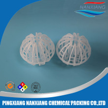 16mm,25mm,38mm high efficiency plastic tri-pack ball for tower scrubber