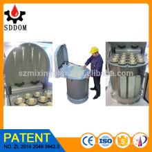 Filtro de polvo de ventilador, colectores de polvo industrial