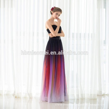 2017 Women Clothing Formal Party Maxi Gown Custom Made Party Wear Evening Dress