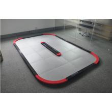 Carril de carreras profesional para coches de juguete cuadrados de 6 niños