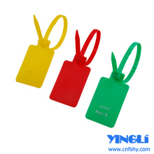 Pull Tight Locking Plastic Security Seal Tags