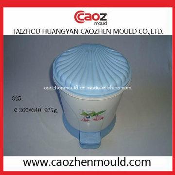 Usado Plastic Injection Pedal Trash Bin Mold em estoque