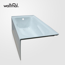Ensemble Skirted Tub com Três flange de azulejo