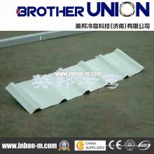 Maquinaria perfiladora trapezoidal de techo / pared con control PLC