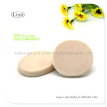 2014 Hot Oval Cosmetic NBR Sponge