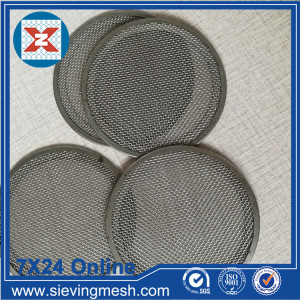 Metal Wire Mesh Filter Disc