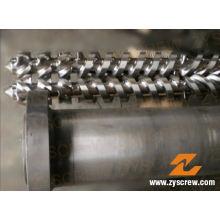 Cincinnati Parallel Twin Screw Barrel para PVC