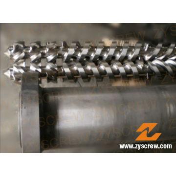 Cincinnati Parallel Twin Screw Barrel für PVC