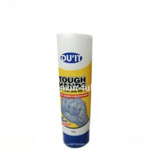 Tubo de crema cosmético coreano de la mano 150ml con la tapa