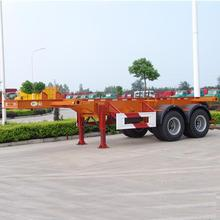 CCC ISO Approved 2 Axles 20ft Flatbed Container Truck Trailer